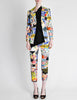 Christian Lacroix Vintage Pop Art Collage Print Suit - Amarcord Vintage Fashion  - 2