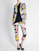 Christian Lacroix Vintage Pop Art Collage Print Suit - Amarcord Vintage Fashion  - 3