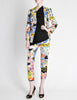 Christian Lacroix Vintage Pop Art Collage Print Suit - Amarcord Vintage Fashion  - 8