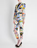 Christian Lacroix Vintage Pop Art Collage Print Suit - Amarcord Vintage Fashion  - 4