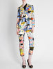 Christian Lacroix Vintage Pop Art Collage Print Suit - Amarcord Vintage Fashion  - 6