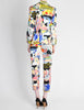 Christian Lacroix Vintage Pop Art Collage Print Suit - Amarcord Vintage Fashion  - 7