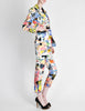 Christian Lacroix Vintage Pop Art Collage Print Suit - Amarcord Vintage Fashion  - 9