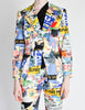 Christian Lacroix Vintage Pop Art Collage Print Suit - Amarcord Vintage Fashion  - 5
