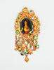 Christian Lacroix Vintage Antique-Inspired Cameo Charm Brooch - Amarcord Vintage Fashion  - 2