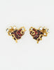 Christian Lacroix Vintage Sacred Heart Earrings - Amarcord Vintage Fashion  - 2