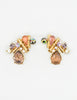 Christian Lacroix Vintage Colorful Multi-Stone Earrings - Amarcord Vintage Fashion  - 5
