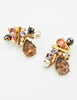 Christian Lacroix Vintage Colorful Multi-Stone Earrings - Amarcord Vintage Fashion  - 2