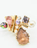 Christian Lacroix Vintage Colorful Multi-Stone Earrings - Amarcord Vintage Fashion  - 3