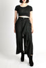 Comme des Garçons Vintage Black Wool Cropped Pants - Amarcord Vintage Fashion  - 5