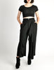 Comme des Garçons Vintage Black Wool Cropped Pants - Amarcord Vintage Fashion  - 4