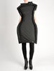 Comme des Garçons Black Puffed Tube Frame Dress - Amarcord Vintage Fashion  - 4