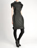 Comme des Garçons Black Puffed Tube Frame Dress - Amarcord Vintage Fashion  - 5