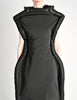 Comme des Garçons Black Puffed Tube Frame Dress - Amarcord Vintage Fashion  - 3