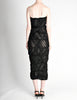 Comme des Garçons Vintage Black Sheer Ruched Strapless Dress - Amarcord Vintage Fashion  - 7
