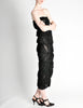 Comme des Garçons Vintage Black Sheer Ruched Strapless Dress - Amarcord Vintage Fashion  - 6