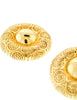 Christian Dior Gold Medallion Earrings - Amarcord Vintage Fashion  - 3