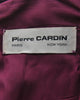 Pierre Cardin Vintage Purple Wool Pleated Dress - Amarcord Vintage Fashion  - 7