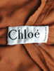 Chloe Vintage Rust Wool Dress - Amarcord Vintage Fashion  - 8