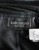 Valentino Vintage Leather Pencil Skirt - Amarcord Vintage Fashion  - 6