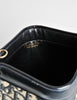 Christian Dior Vintage Navy Blue Monogram Clutch Bag - Amarcord Vintage Fashion  - 7