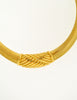 Christian Dior Gold Omega Choker Necklace - Amarcord Vintage Fashion  - 4