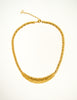 Christian Dior Vintage Gold Swirl Necklace - Amarcord Vintage Fashion  - 2