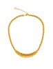 Christian Dior Vintage Gold Swirl Necklace - Amarcord Vintage Fashion  - 1
