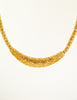 Christian Dior Vintage Gold Swirl Necklace - Amarcord Vintage Fashion  - 3