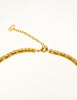 Christian Dior Vintage Gold Swirl Necklace - Amarcord Vintage Fashion  - 5