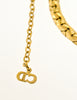 Christian Dior Vintage Gold Swirl Necklace - Amarcord Vintage Fashion  - 7