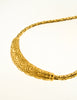 Christian Dior Vintage Gold Swirl Necklace - Amarcord Vintage Fashion  - 4