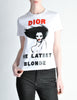 Christian Dior Vintage 'Dior The Latest Blonde' T-Shirt - Amarcord Vintage Fashion  - 2