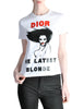 Christian Dior Vintage 'Dior The Latest Blonde' T-Shirt - Amarcord Vintage Fashion  - 1