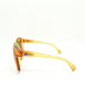 Christian Dior Vintage 1970s Yellow & Orange Ombre Sunglasses 2006 - Amarcord Vintage Fashion  - 6