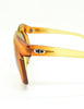 Christian Dior Vintage 1970s Yellow & Orange Ombre Sunglasses 2006 - Amarcord Vintage Fashion  - 7