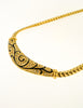 Christian Dior Vintage Black & Gold Rhinestone Enamel Necklace - Amarcord Vintage Fashion  - 4