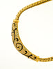 Christian Dior Vintage Black & Gold Rhinestone Enamel Necklace - Amarcord Vintage Fashion  - 5
