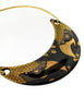 Franco Bastianelli for Laurana Vintage Gold & Black Enamel Hawk Necklace - Amarcord Vintage Fashion  - 4