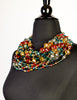 Escada Vintage Multicolor Multistrand Statement Choker Necklace - Amarcord Vintage Fashion  - 3
