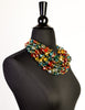 Escada Vintage Multicolor Multistrand Statement Choker Necklace - Amarcord Vintage Fashion  - 4