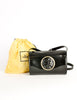 Fendi Vintage Black Leather Janus Bag - Amarcord Vintage Fashion  - 8