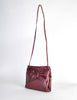 Fendi Vintage Burgundy Leather Bow Front Bag - Amarcord Vintage Fashion  - 3
