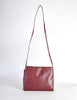 Fendi Vintage Burgundy Leather Bow Front Bag - Amarcord Vintage Fashion  - 4