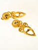 Fendi Vintage Gold Vase Dangle Earrings - Amarcord Vintage Fashion  - 4