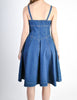 Fendi Vintage Blue Denim Jean Dress - Amarcord Vintage Fashion  - 6