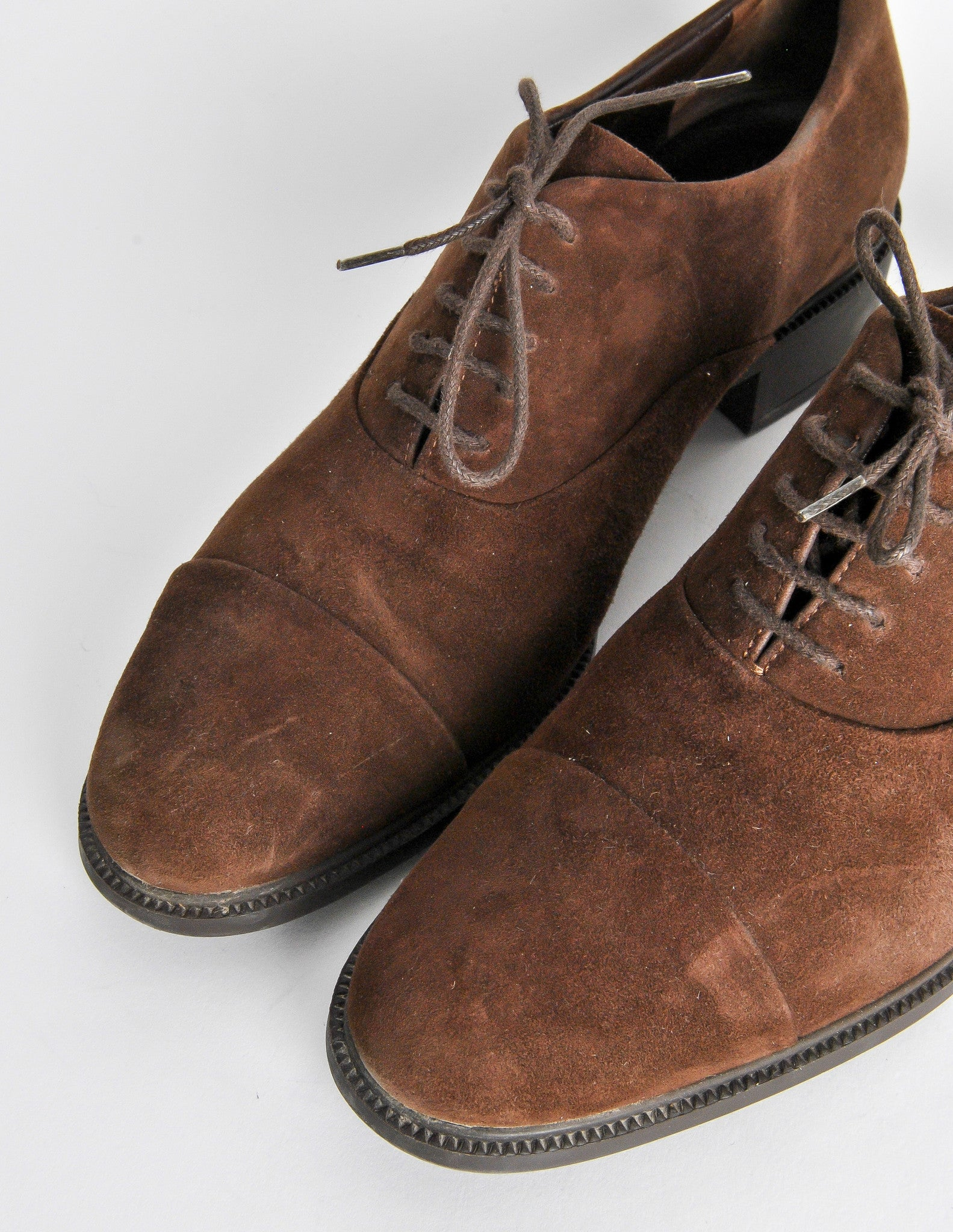 Buy a Allen Edmonds for Joseph Abboud Brown Suede Oxfords and other Dress at Joseph Abboud. Browse the latest styles and selection in men's clothing.