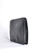 Ferré Vintage Black Alligator Portfolio Clutch - Amarcord Vintage Fashion  - 6