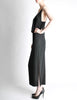 Galanos Vintage Black Knot Bust Dress - Amarcord Vintage Fashion  - 5