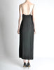 Galanos Vintage Black Knot Bust Dress - Amarcord Vintage Fashion  - 9